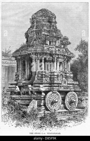 India Vijayanagar - Stock Image