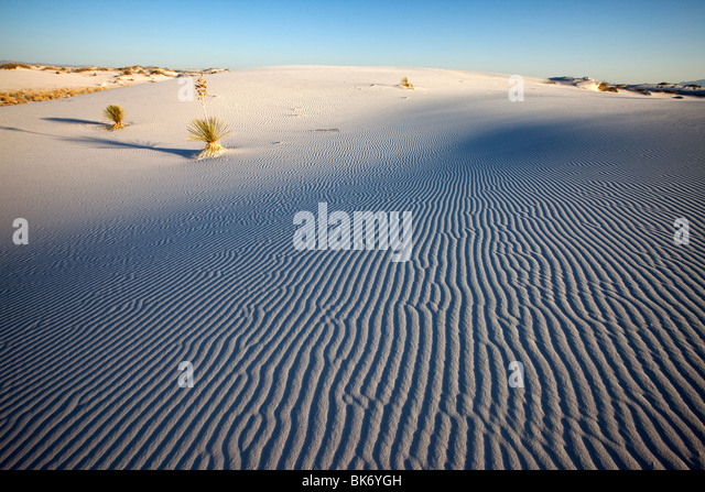 White Sands National Monument, New Mexico - Stock-Bilder
