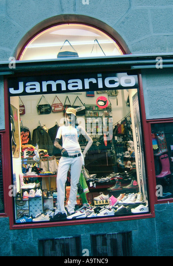 Switzerland Zurich Niederdorf Jamerico fashion shop - Stock Image