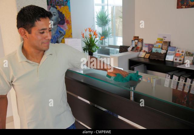 Lima Peru Barranco District Calle Centenario 3B Barranco Bed and & Breakfast hotel budget lodging hospitality - Stock Image