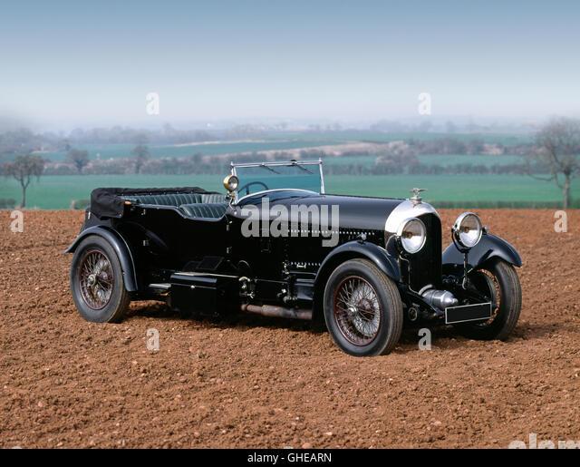 1927 Bentley 6.5 litre 4 seat tourer - Stock Image