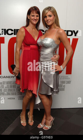 UK Premiere of I Want Candy -London - Stock Image