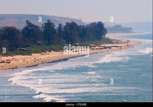 Arambol Beach, Goa, India, Asia - Stock-Bilder