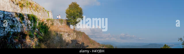 journey in the mountains of Abkhazia - Stock Image