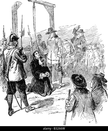 the salem witch hunt in the town of new england in the play the crucible by arthur miller The crucible and the witch hunt  arthur miller play, witch hunt]  he describes a new england town in the midst of salem witch-hunt hysteria during the late.