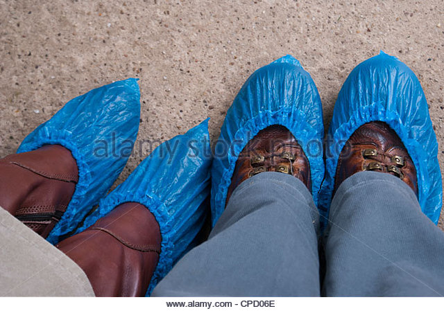 Shoe Covers For Walking On Roof