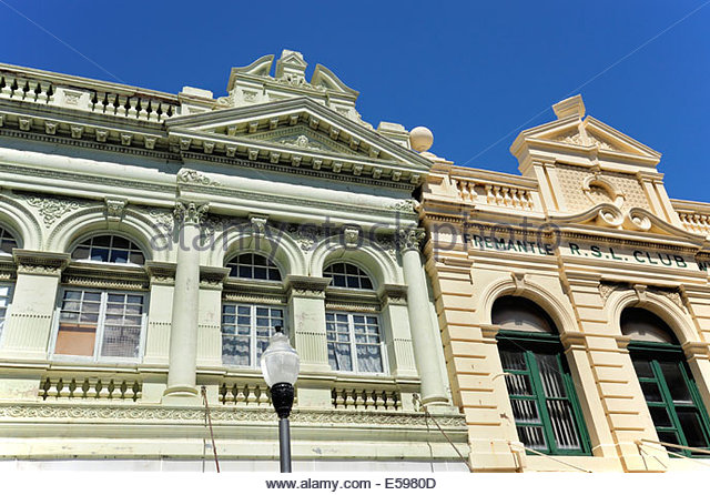 Old architecture fremantle stock photos old architecture for Architecture firms perth