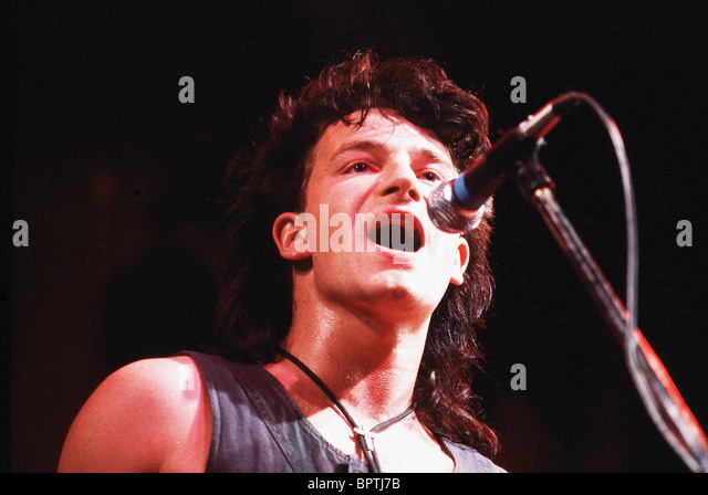 BONO POP GROUP 'U2' (1984) - Stock Image