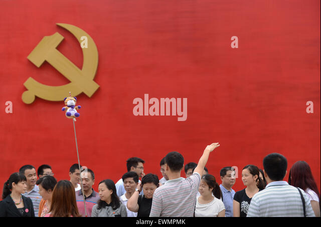 chinese communists party The trappings of a modern, consumer society don't change the essence of the chinese regime.