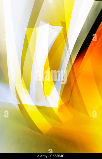 Abstract symbols of forest growth - Stock Image