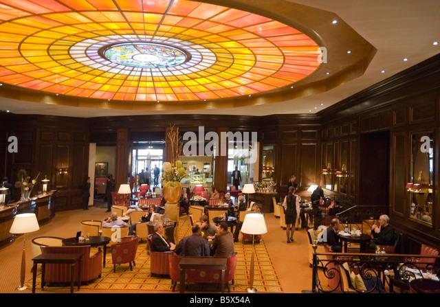 Lobby Hotel Vier Jahreszeiten Kempinski Munich Germany - Stock Image