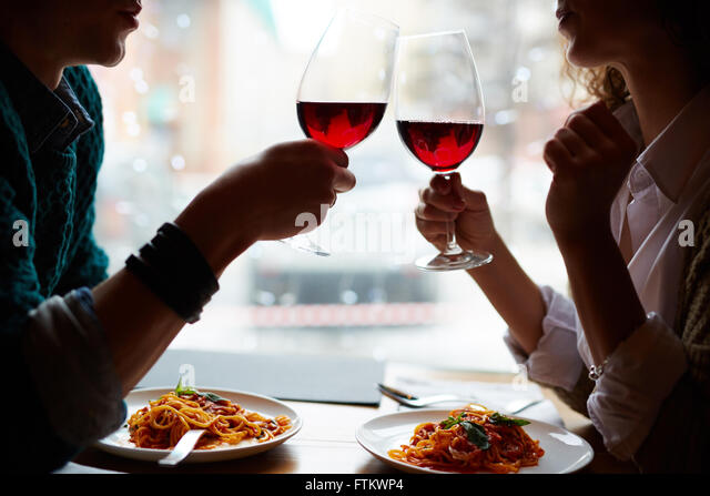 Romantic date - Stock-Bilder