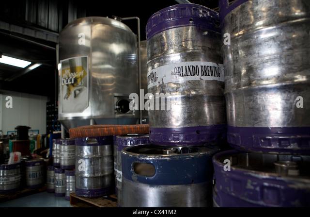 Orlando brewery Florida USA - Stock Image