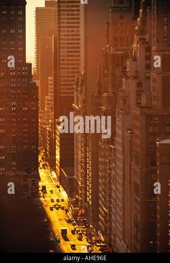 Manhatten, New York City, USA - Stock Image