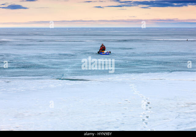 Ice fishing canada stock photos ice fishing canada stock for Lake winnipeg ice fishing