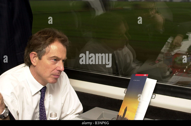Prime Minister Tony Blair January 2002 - Stock Image