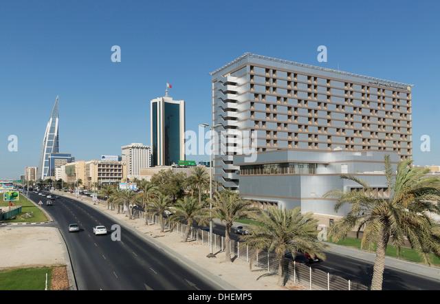 Manama, Bahrain, Middle East - Stock Image