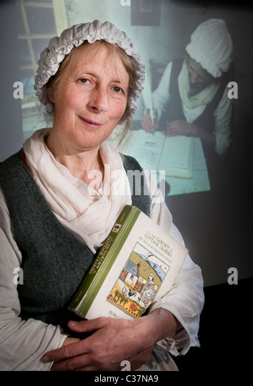 Fiona Houston author of 'The Garden Cottage Diaries' - Stock Image