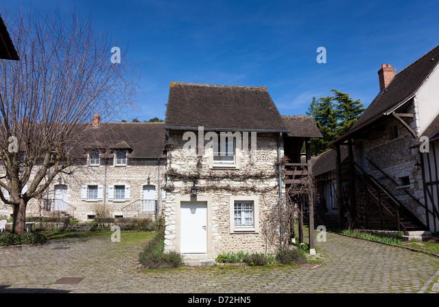 Architecture giverny haute normandie france stock photos - Haute normandie mobel ...