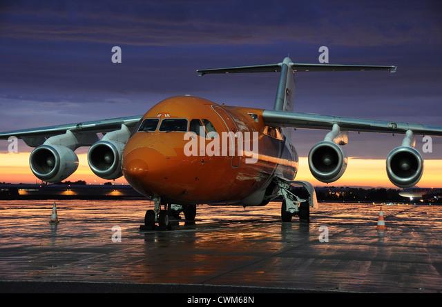 BAe-146 of TNT - Stock Image