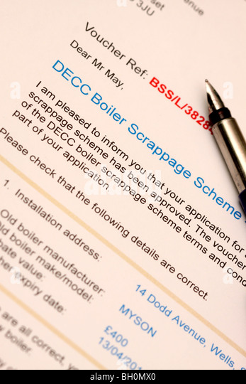 Scrappage Scheme Stock Photos Amp Scrappage Scheme Stock