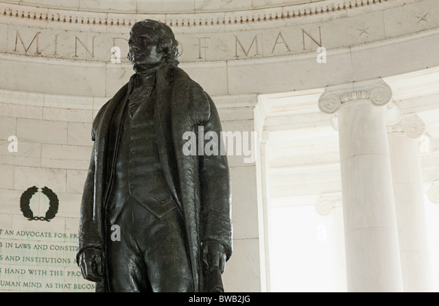 Jefferson memorial, Washington DC, USA - Stock Image