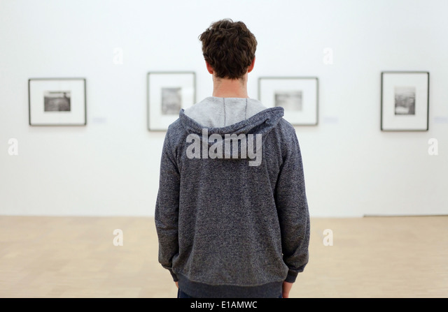 visit museum - Stock Image
