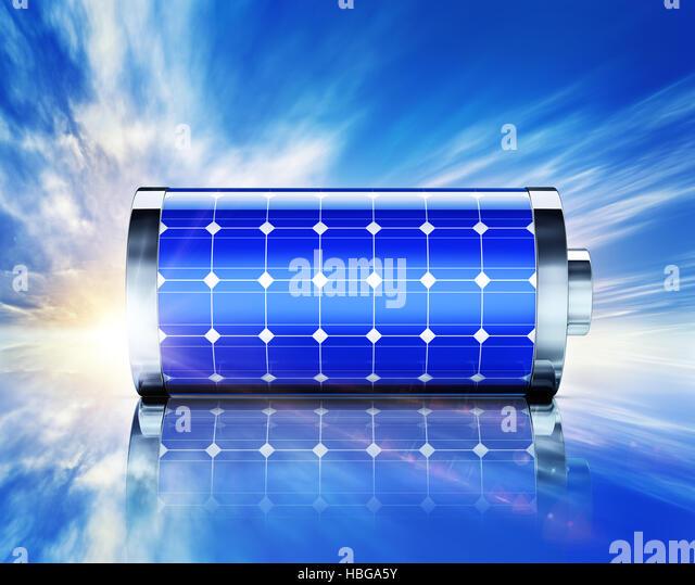 solar energy - Stock Image