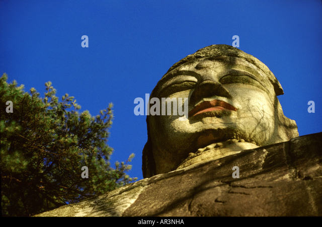 Chebiwon buddha in Andong, Andong, South Korea Asia - Stock Image