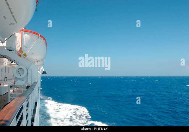 Cruise Ship Mediterranean Sea Life Stock Photos & Cruise Ship Mediterrane...