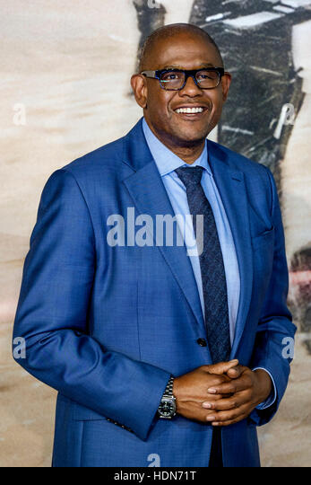 Forest Whitaker attends the Launch Event of ROGUE ONE: A STAR WARS STORY  on 13/12/2016 at  Tate Modern, Bankside, - Stock Image