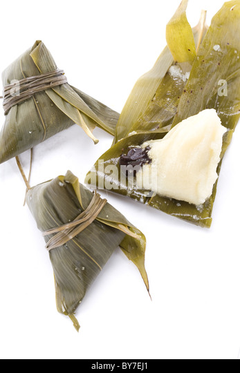 Chinese ZongZi for Dragon Boat Festival (DuanWu festival) - Stock Image