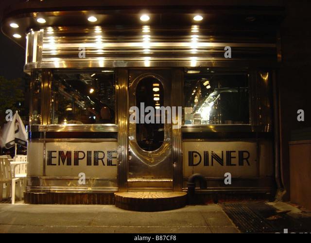 Empire diner new york stock photos empire diner new york - Deco cuisine new york ...