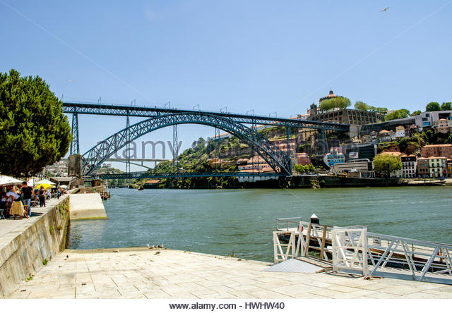 Beautiful city of Porto, in Portugal - Stock Image