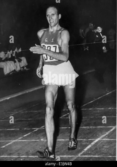 giuseppe dordoni,XVI olympic games,melbourne - Stock Image