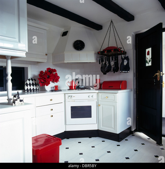 Dark Red Kitchen Accessories: Appliance Black Monochromatic Oven Stock Photos