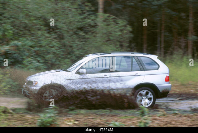 2001 BMW X5 4.4i. Artist: Unknown. - Stock Image