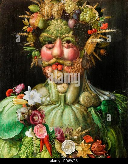 Giuseppe arcimboldo rudolf ii of habsburg as vertumnus 1590 oil on