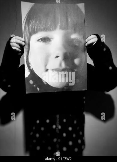 5-year old girl - Stock-Bilder