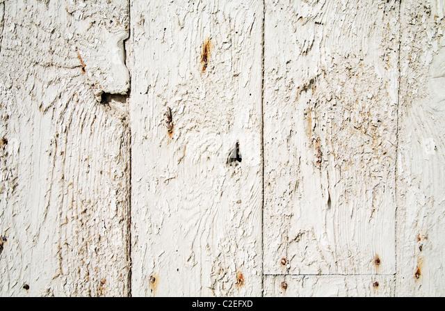 Old Weathered Wood - Stock Image