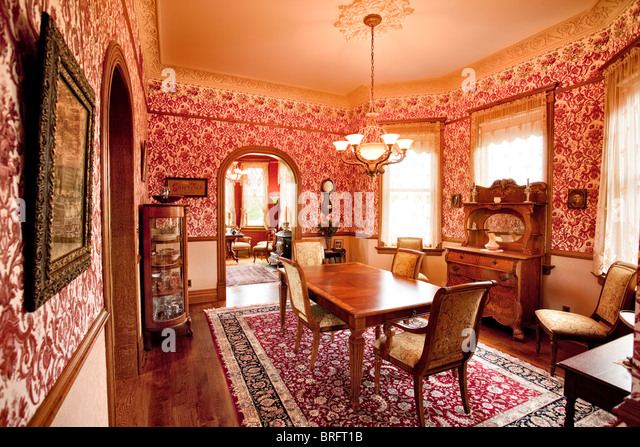 Victorian Dining Room Stock Photos
