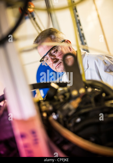 International Manufacturing Centre, University of Warwick. The UK's only purpose built hybrid powertrain testing - Stock Image