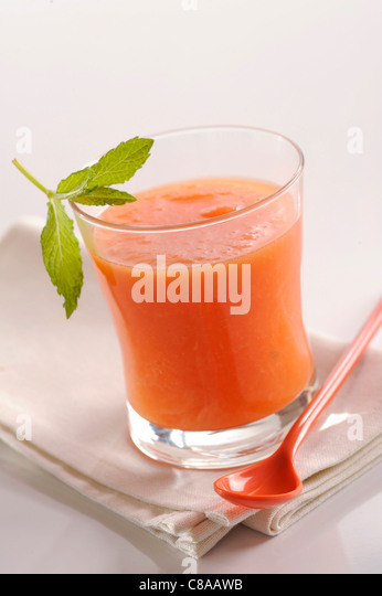 Melon gaspacho - Stock Image