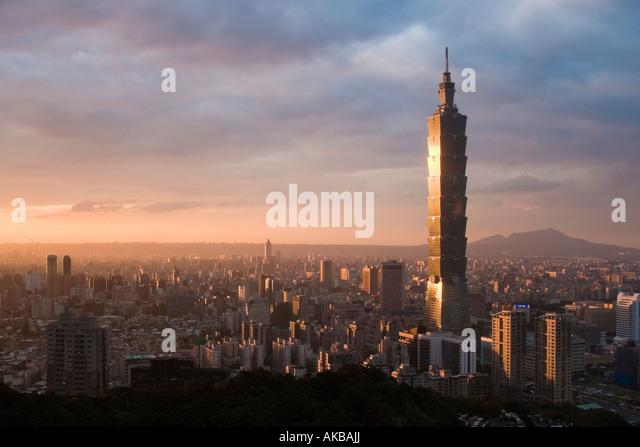Taipei 101, Taipei, Taiwan - Stock Image