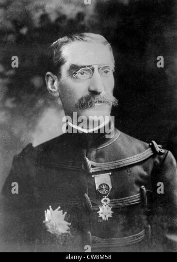 General Gallieni, governor general, Madagascar - Stock Image