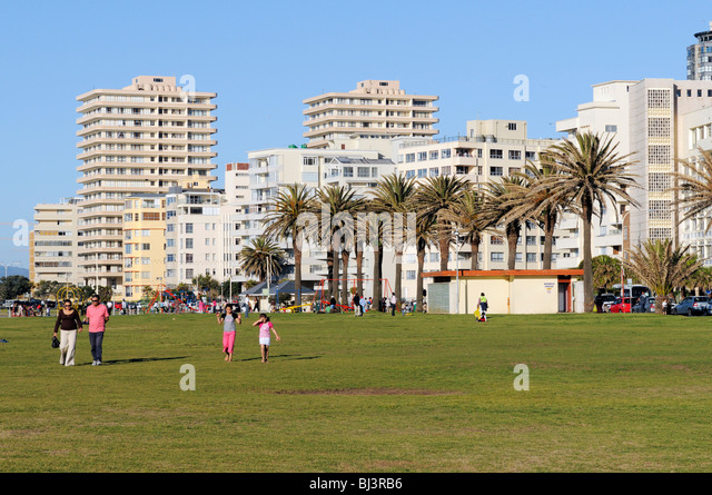 Sea Point, Cape Town, Western Cape, South Africa, Africa - Stock Image