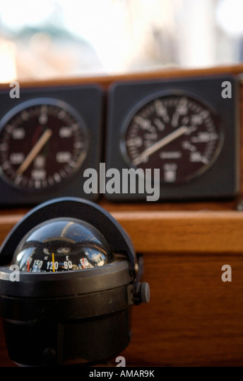 Ship's compass - Stock-Bilder