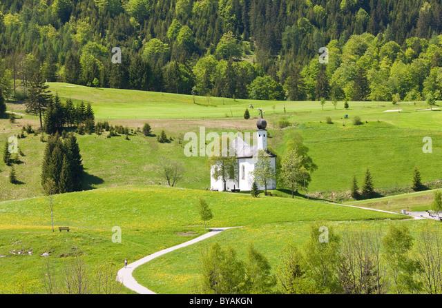 St.Anna chapel, Tirol, Achenkirch, Austria - Stock Image