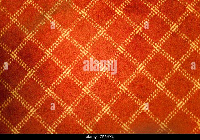 Red old carpet for background - Stock-Bilder