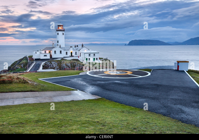 Fanad head Lighthouse, Donegal Ireland. - Stock-Bilder
